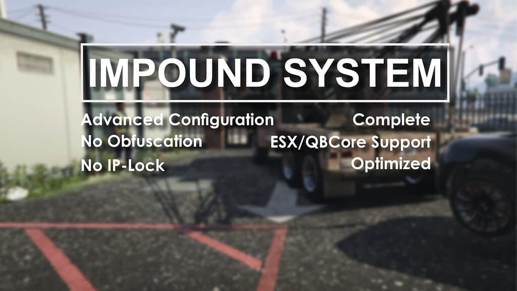 ESX The Impound System Releases