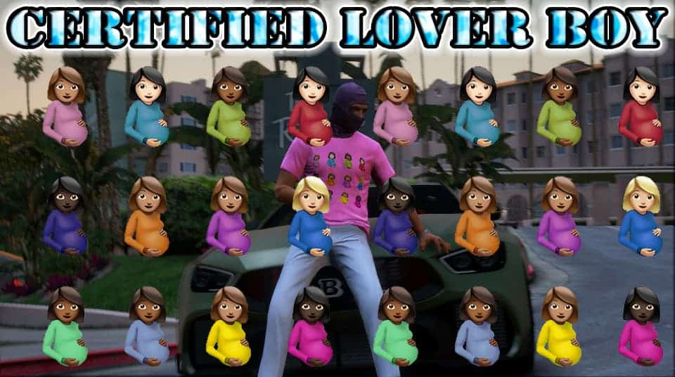 1632853612 Certified Lover Boy CLB Album Cover Shirts for