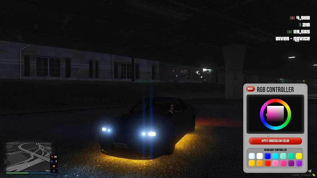 RGB Controller Neon Headlights Standalone Releases
